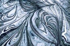 Bożenarodzeniowy frostwork Obrazy Royalty Free