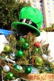 Bożenarodzeniowy Irlandzki O temacie drzewo Obrazy Stock