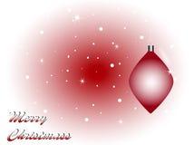 Bożenarodzeniowy kartka z pozdrowieniami Fotografia Stock
