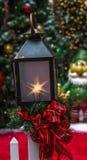 Bożenarodzeniowy lampion Obraz Royalty Free