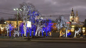 Bożenarodzeniowy Moskwa Obrazy Stock