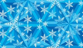 Bożenarodzeniowy mozaika wzór Snowflakes_09 Obrazy Stock