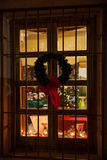 Bożenarodzeniowy okno Obraz Stock
