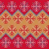 Bożenarodzeniowy pulower Pattern9 Zdjęcia Royalty Free