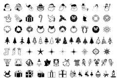 Bożenarodzeniowy symbol royalty ilustracja