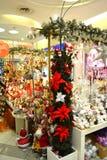 Bożenarodzeniowy zabawka sklep Zdjęcia Stock