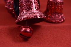 Bożenarodzeniowych dzwonów dekoracja Zdjęcia Stock