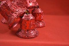 Bożenarodzeniowych dzwonów dekoracja Zdjęcia Royalty Free