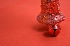 Bożenarodzeniowych dzwonów dekoracja Zdjęcie Royalty Free