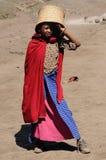 Bo i Afrika Royaltyfri Bild