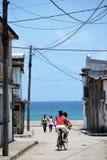 Bo i Baracoas gataKuba fotografering för bildbyråer