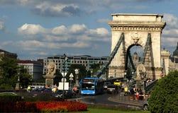 Bo i Budapest Royaltyfria Bilder