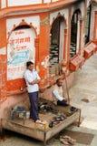 Bo i Indien Fotografering för Bildbyråer