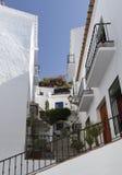 Bo i Salobrena, Andalusia, Spanien Fotografering för Bildbyråer