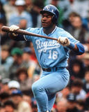 Bo Jackson, Kansas City Royals Stock Images