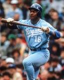 Bo Jackson, Kansas City Royals Stock Images
