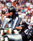 Bo Jackson Los Angeles Raiders Royaltyfria Bilder