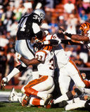 Bo Jackson Los Angeles Raiders Arkivfoto