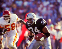 Bo Jackson Los Angeles Raiders Stock Photos