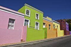 Bo Kaap Royalty Free Stock Images