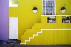 BO Kaap in Cape Town Stockfotografie