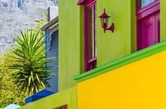 Bo Kaap, Cape Town detalj Royaltyfri Foto