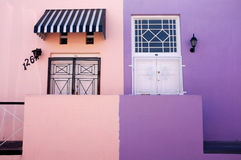 Bo Kaap in Cape Town Stock Image