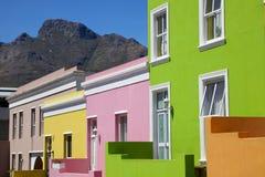 Bo Kaap chałupy abstrakt Fotografia Royalty Free