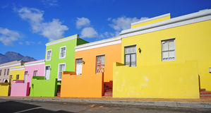 BO-Kaap, Ciudad del Cabo Imágenes de archivo libres de regalías