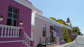 Bo kaap district of cape town, south africa