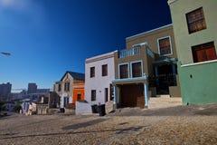 BO-Kaap district, Capetown, Afrique du Sud photo stock