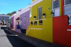 BO Kaap em Cape Town Imagem de Stock Royalty Free