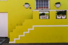 Bo-Kaap färger i Cape Town Royaltyfri Fotografi