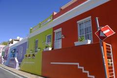 Bo Kaap gata Cape Town arkivfoton