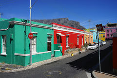 Bo-Kaap House Cape Town. The Bo-Kaap Area in Cape Town Royalty Free Stock Images