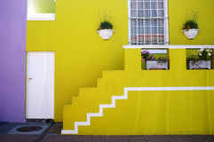 Bo Kaap i Cape Town Arkivbild