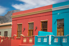 Bo kaap neiborghood in Cape Town, South Africa Royalty Free Stock Images