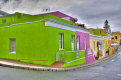 Bo Kaap Quarter in Cape Town, South Africa  Stock Images