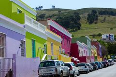 Bo Kaap Royalty Free Stock Photo