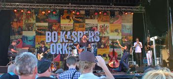 Bo Kaspers Orkester - Swedish pop group Stock Photo