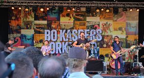 Bo Kaspers Orkester - Swedish pop group Royalty Free Stock Image