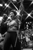 Bo konserten av fanfaraen tirana Royaltyfri Bild