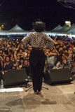 Bo konserten av fanfaraen tirana royaltyfri foto