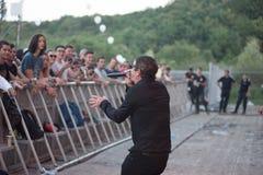 Bo konserten på sommarfestivalen arkivfoto