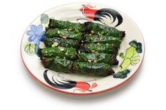 Bo la lot, vietnamese cuisine Royalty Free Stock Photography