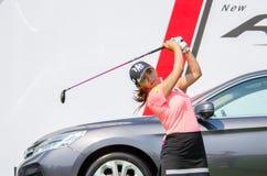Bo-Mee Lee of South Korea in Honda LPGA Thailand 2016 Royalty Free Stock Photography