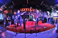 Bo musikbandet Royaltyfri Foto