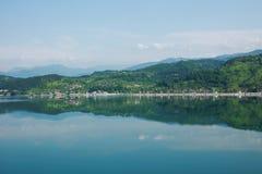 Bośnia i Herzegovina, Jablanica jezioro obrazy stock
