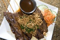 Bo nuong sate Vienamese food appetizer Stock Image