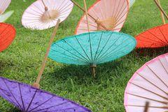 Bo Sang Umbrella Village Stock Photography